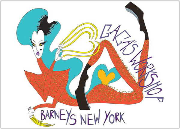 Lady Gaga Barneys Collab